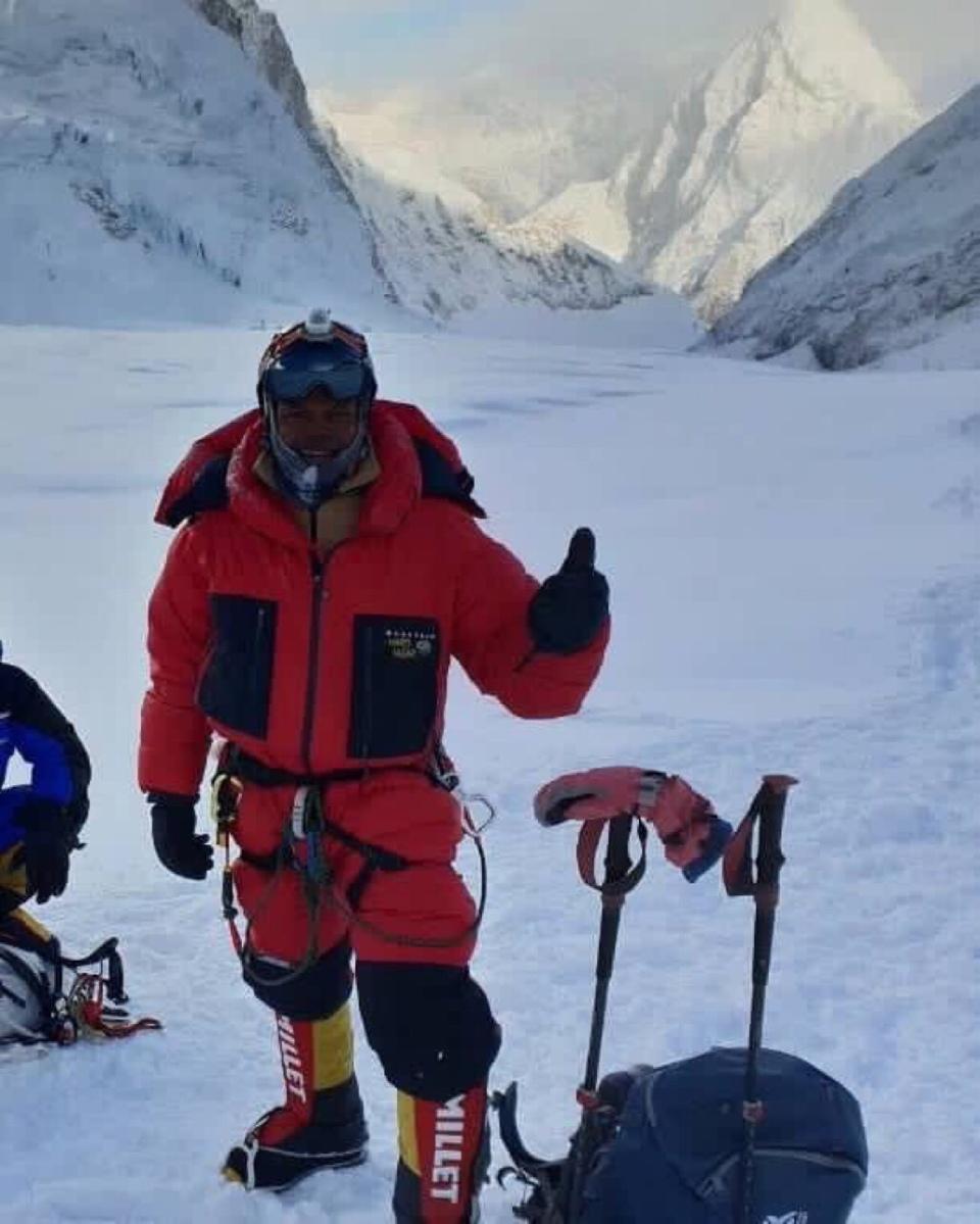 Johann Peries- the second Sri Lankan to summit Mt Everest